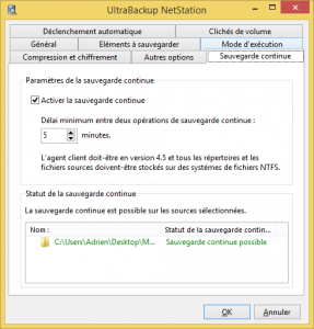 Configuration CDP serveur